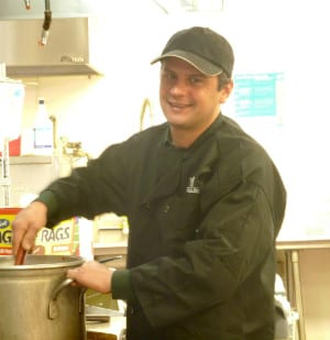 Joseph Stranan, Director of Dining Services at The Inn at Belden Village