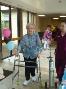 Mother's Day Fashion Show at The Inn at Belden Village assisted living facility