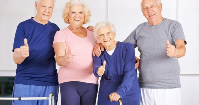 Why exercise is important for seniors at assisted living facilities