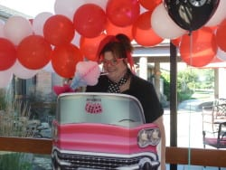 Assisted Living 50's themed party at The Inn at Belden Village