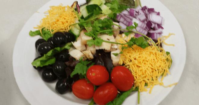 Feautring Chef Pauls Chicken Cobb Salad at The Inn at Belden Village