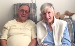 Jim and Nancy Walker senior couple