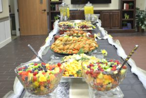 Mother's Day food buffet
