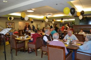 The Inn at Belden Village residents enjoying the party