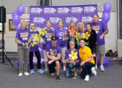 The Inn at Belden Village staff and family at the 2016 Walk to End Alzheimer's Massillon, Ohio