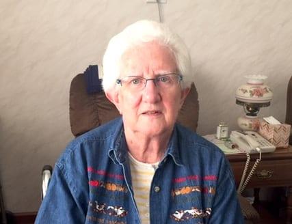 senior resident Barb Hartwart at The Inn at Belden Village