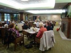 Widow's group breakfast gathering at The Inn at Belden Village