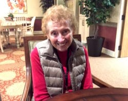 The Inn at Belden Village resident Mary Lou Young
