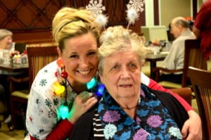The Inn at Belden Village's Nurse Tara with resident