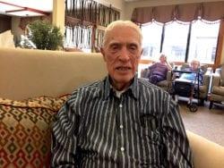 The Inn at Belden Village senior assisted living resident Donald Lovgren