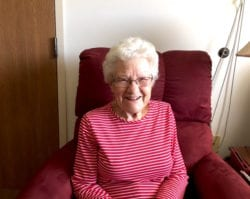 The Inn at Belden Village Senior Resident Margaret Burns