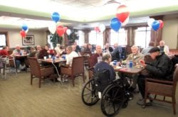 The Inn at Belden Village assisted living Veterans Day