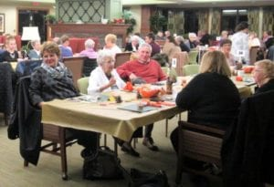 The Inn at Belden Village assisted living Thanksgiving event