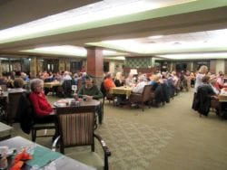 The Inn at Belden Village assisted living Thanksgiving celebration