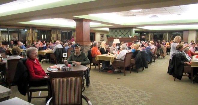 The Inn at Belden Village assisted living Thanksgiving celebration