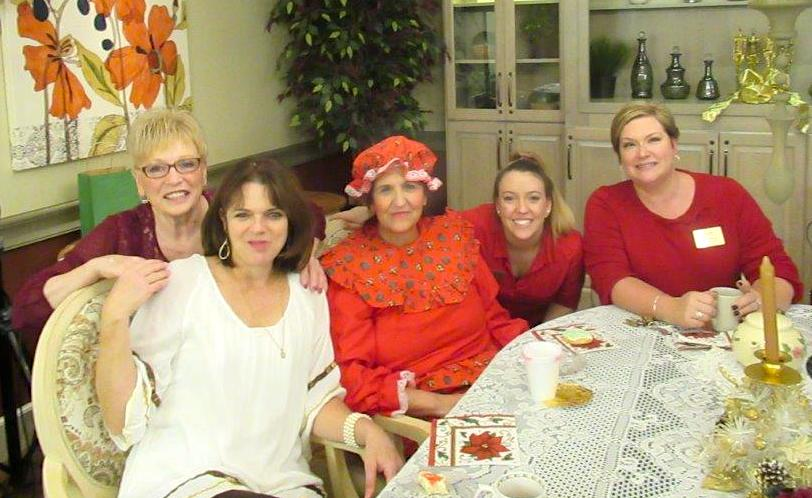 Mrs. Claus and The Inn at Belden Village staff