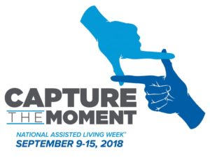 National Assisted Living Week 2018 - Capture the Moment