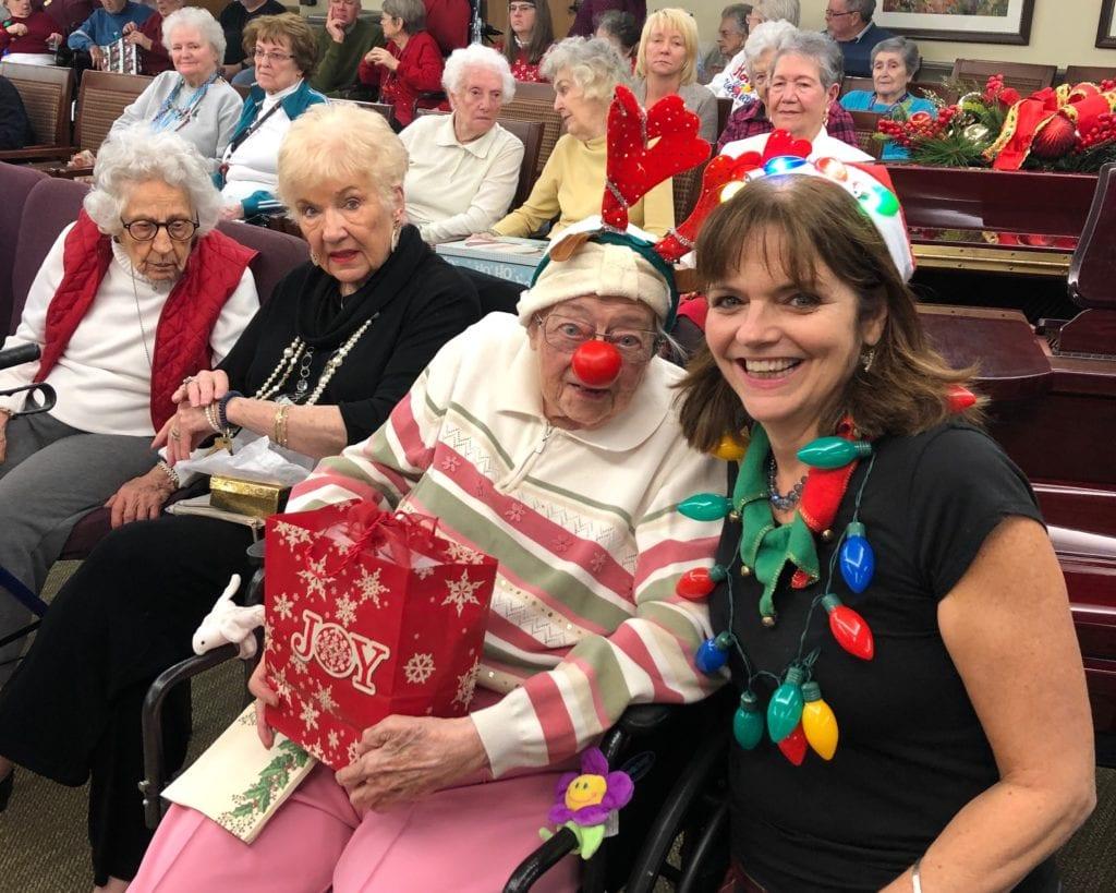 The Inn at Belden Village residents enjoying our Christmas celebration
