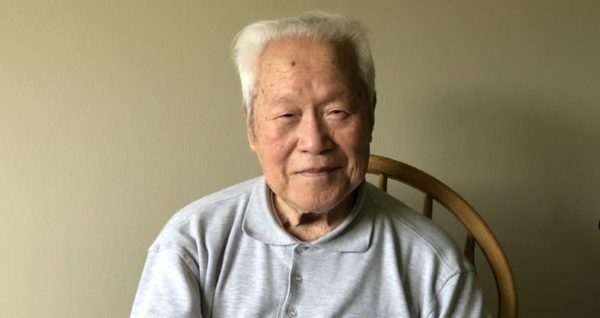 Assisted living resident Mr. Zhou
