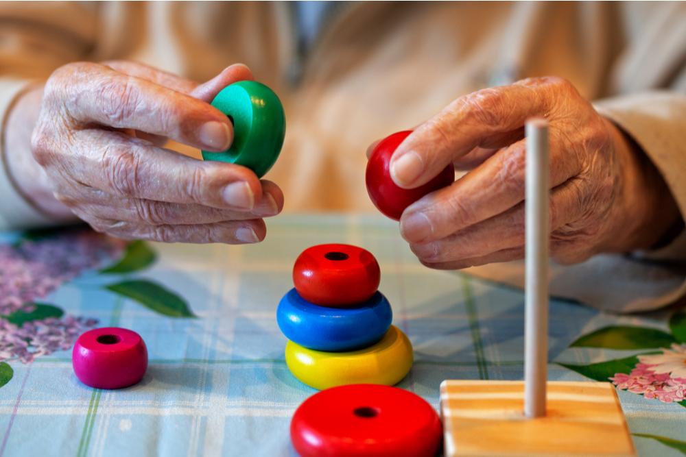 Elderly memory care mind exercises
